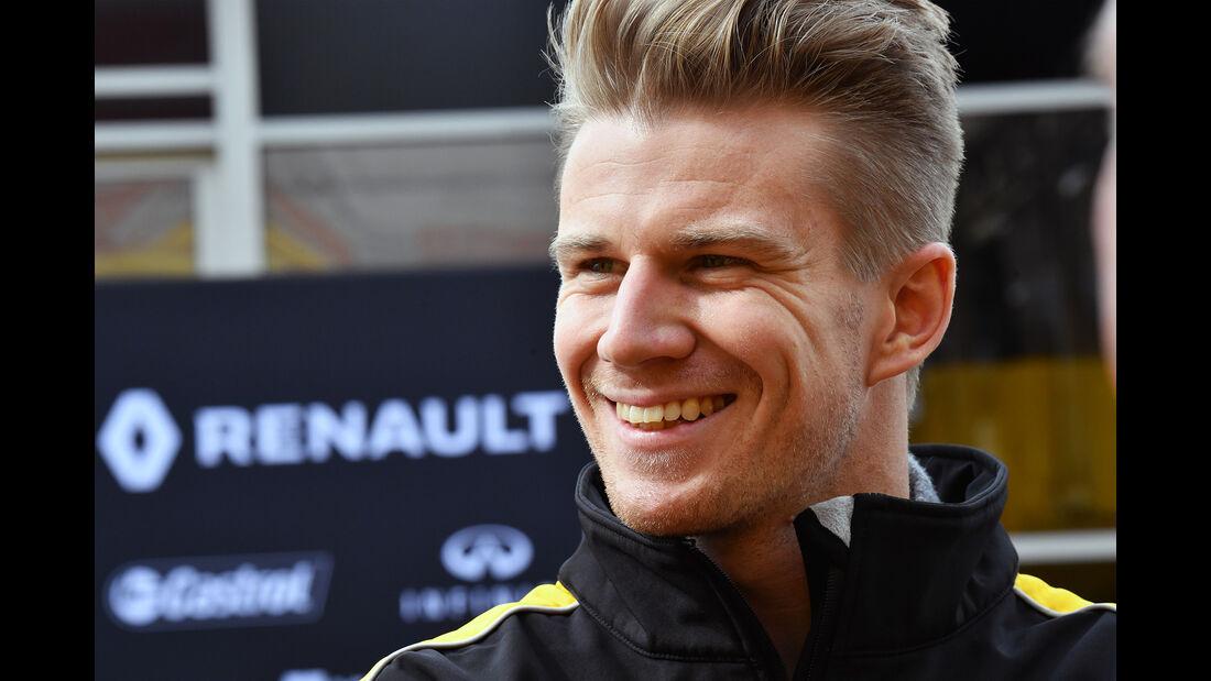 Nico Hülkenberg - Renault - Formel 1 - Test - Barcelona - 28. Februar 2017