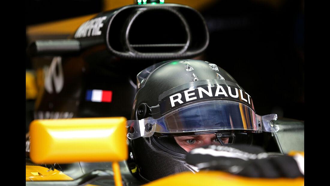 Nico Hülkenberg - Renault - Formel 1 - Test - Barcelona - 8. März 2017