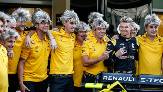 Nico Hülkenberg - Renault - GP Abu Dhabi 2019
