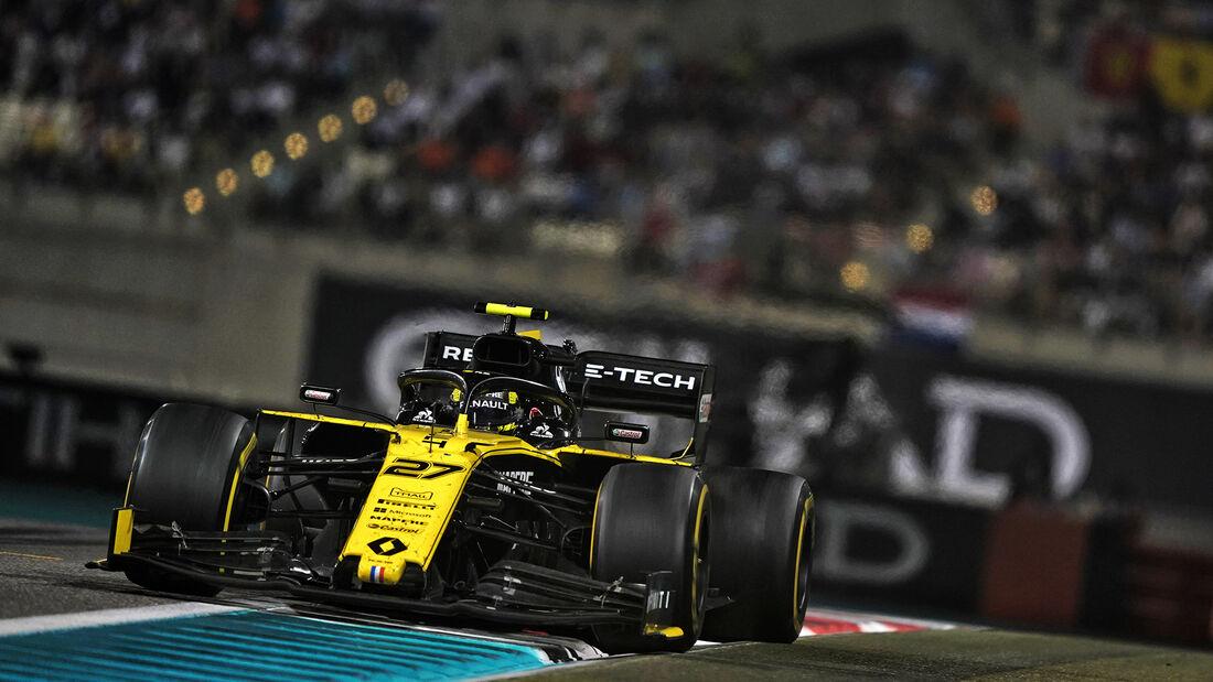 Nico Hülkenberg - Renault - GP Abu Dhabi 2019 - Rennen