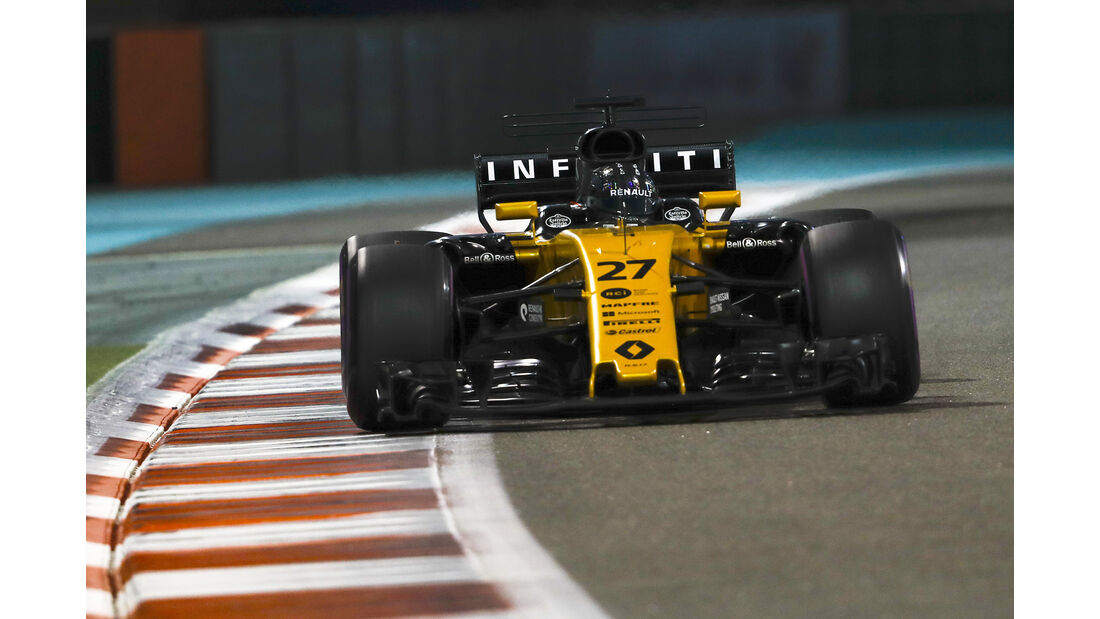 Nico Hülkenberg - Renault - GP Abu Dhabi - 25. November 2017
