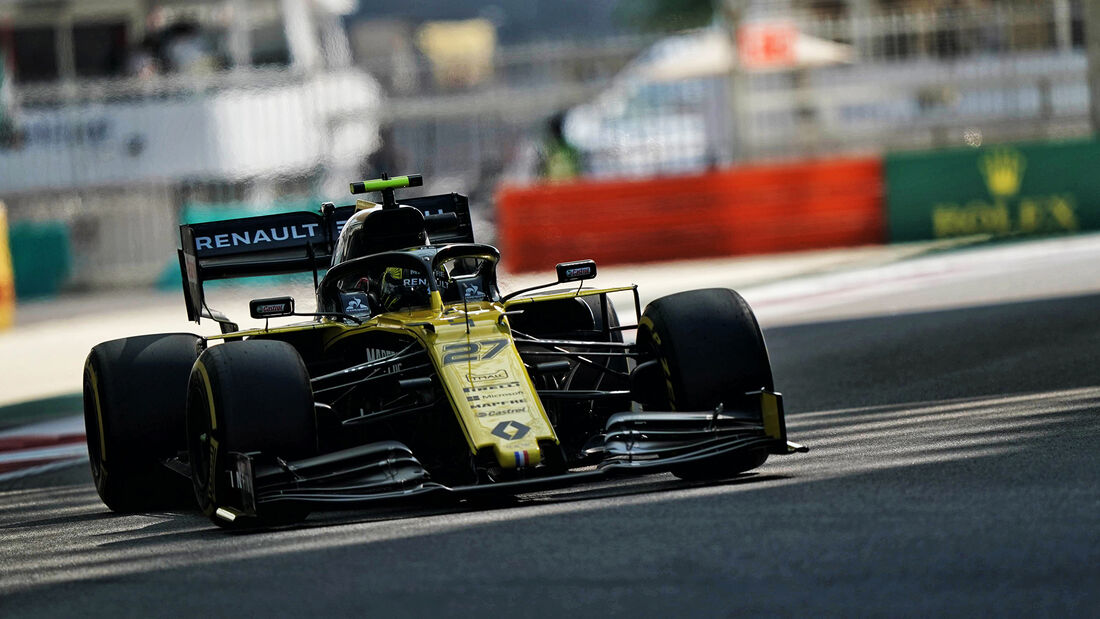 Nico Hülkenberg - Renault - GP Abu Dhabi - Formel 1 - Freitag - 29.11.2019