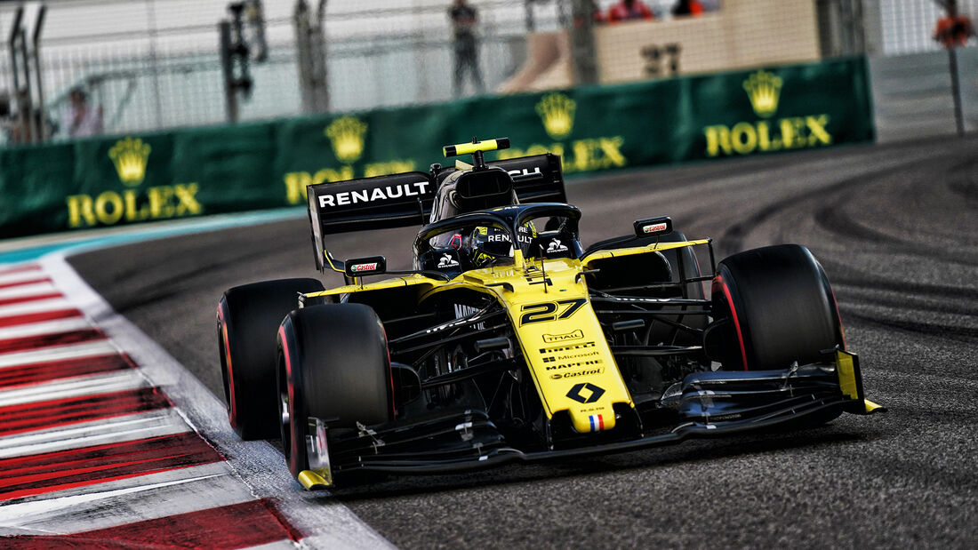 Nico Hülkenberg - Renault - GP Abu Dhabi - Formel 1 - Samtag - 30.11.2019