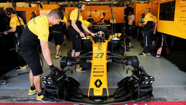 Nico Hülkenberg - Renault - GP Aserbaidschan 2017 - Qualifying - Baku - Samstag - 24.6.2017