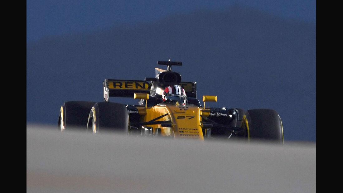 Nico Hülkenberg - Renault - GP Bahrain - Sakhir - Training - Freitag - 14.4.2017