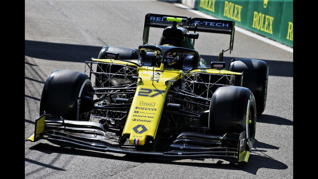 Nico Hülkenberg - Renault - GP Belgien - Spa-Francorchamps - Formel 1 - Freitag - 30.08.2019