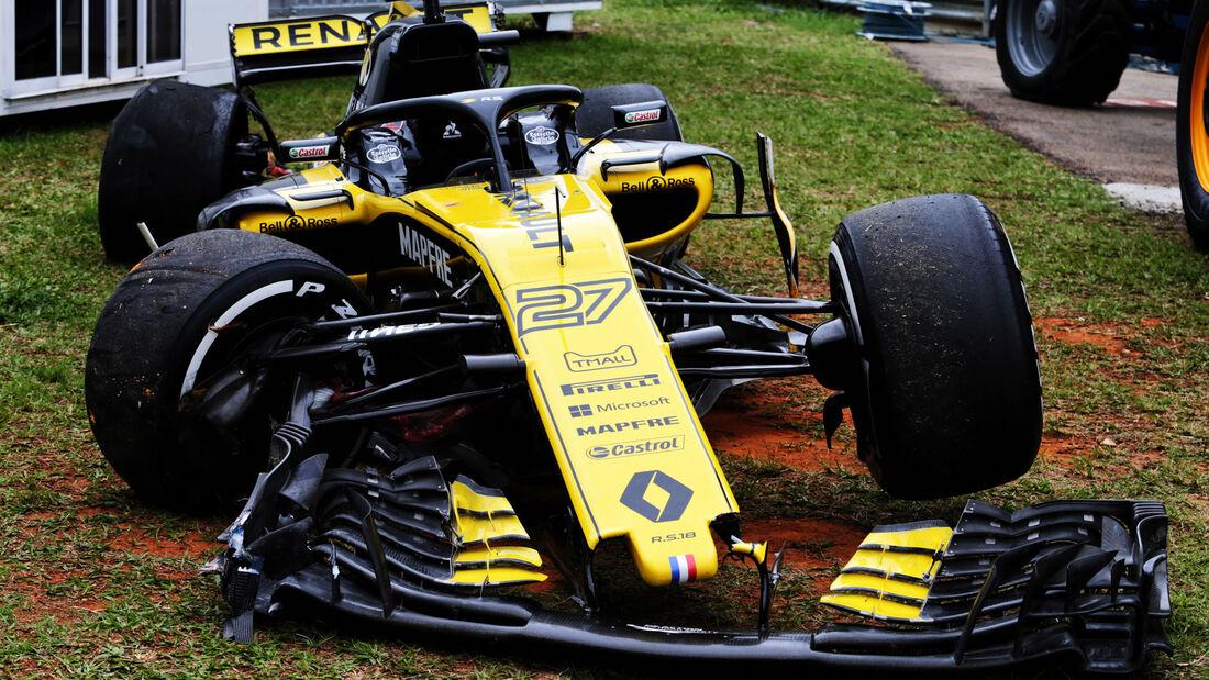 Nico Hülkenberg - Renault - GP Brasilien 2018 - Freitagstraining