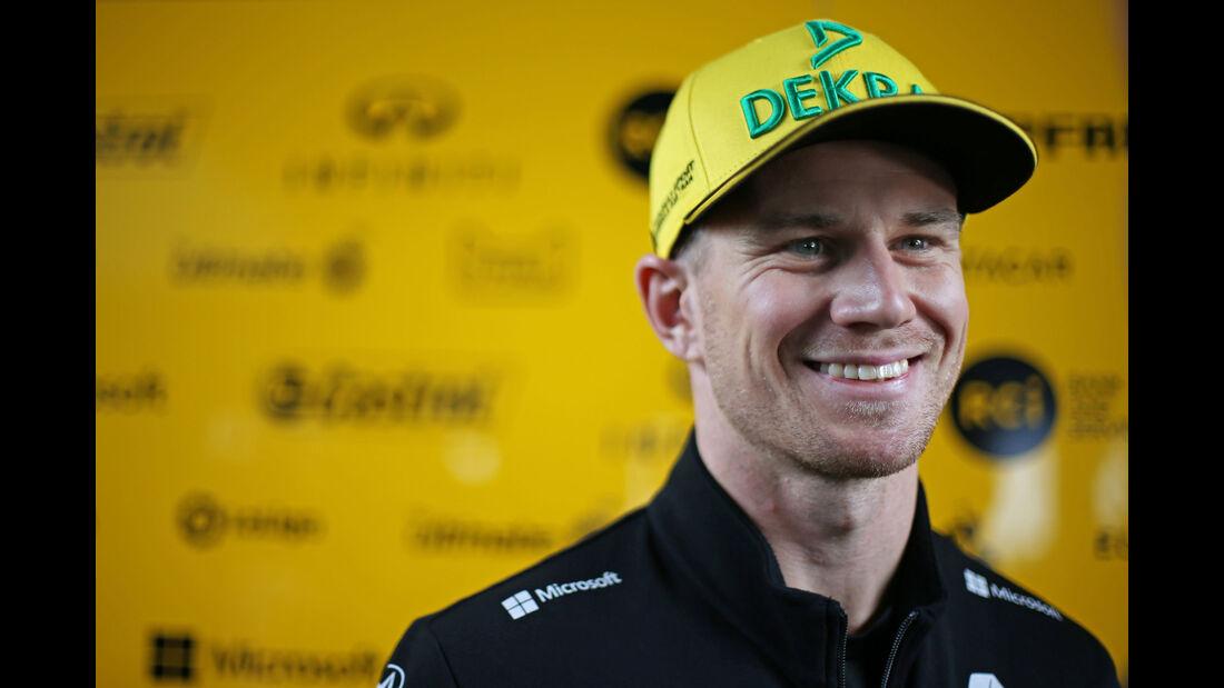 Nico Hülkenberg - Renault - GP Brasilien - Interlagos - Formel 1 - Donnerstag - 8.11.2018