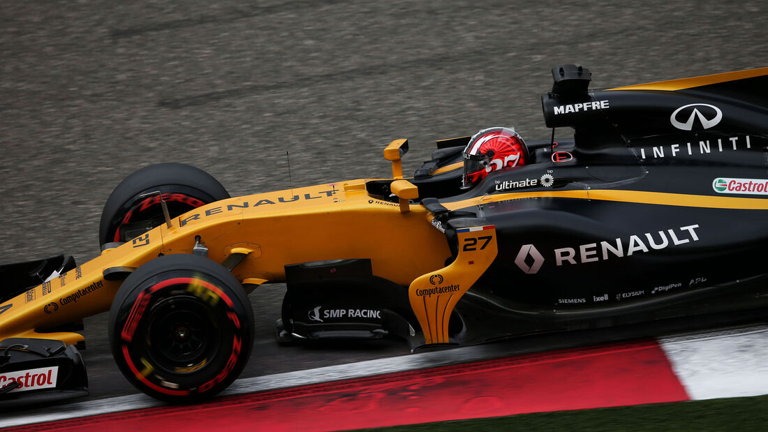 Nico Hülkenberg - Renault - GP China 2017 - Qualifying