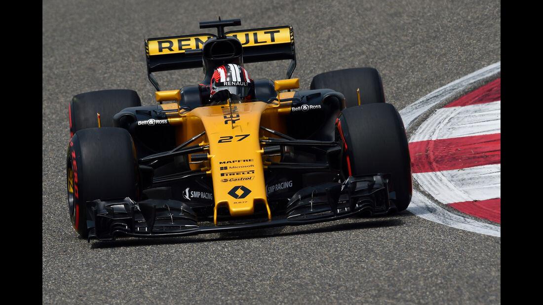 Nico Hülkenberg - Renault -  GP China 2017 - Qualifying - 8.4.2017