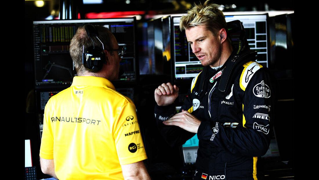 Nico Hülkenberg - Renault - GP England - Silverstone - Formel 1 - Freitag - 6.7.2018
