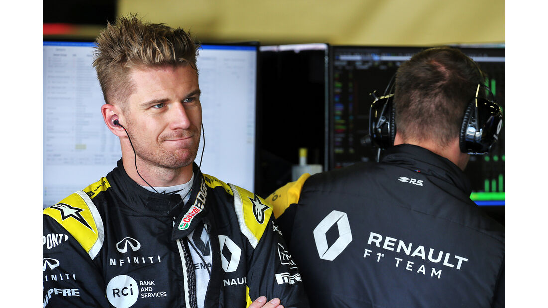 Nico Hülkenberg - Renault - GP England - Silverstone - Freitag - 12.7.2019