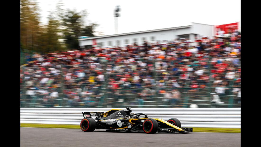 Nico Hülkenberg - Renault - GP Japan - Suzuka - Formel 1 - Freitag - 5.10.2018