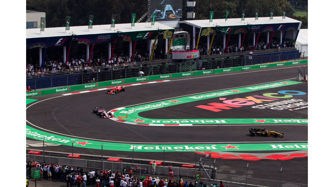 Nico Hülkenberg - Renault - GP Mexiko 2017 - Rennen