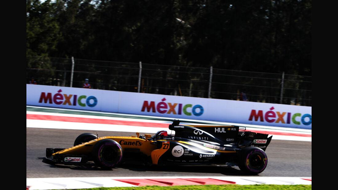 Nico Hülkenberg - Renault - GP Mexiko - Formel 1 - Freitag - 27.10.2017