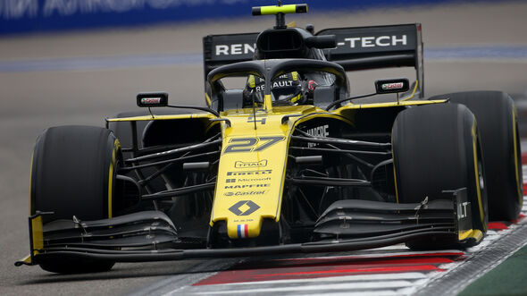 Nico Hülkenberg - Renault - GP Russland - Sotschi - Formel 1 - Freitag - 27.9.2019