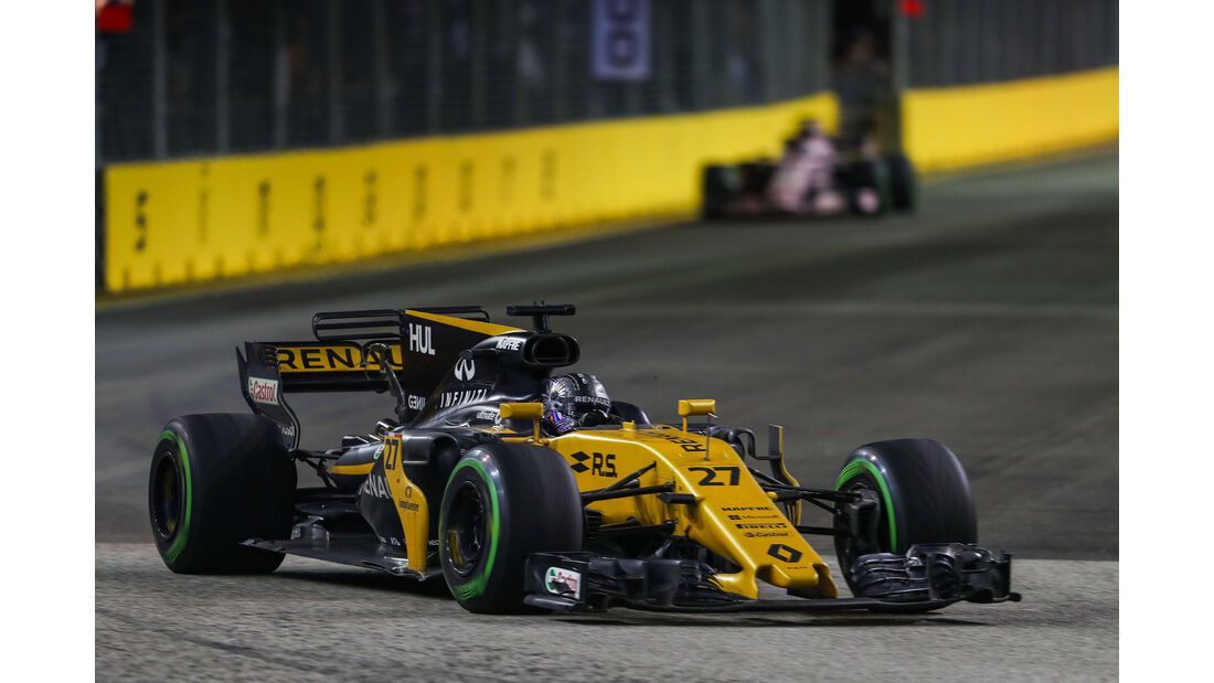 Nico Hülkenberg - Renault - GP Singapur 2017 - Rennen
