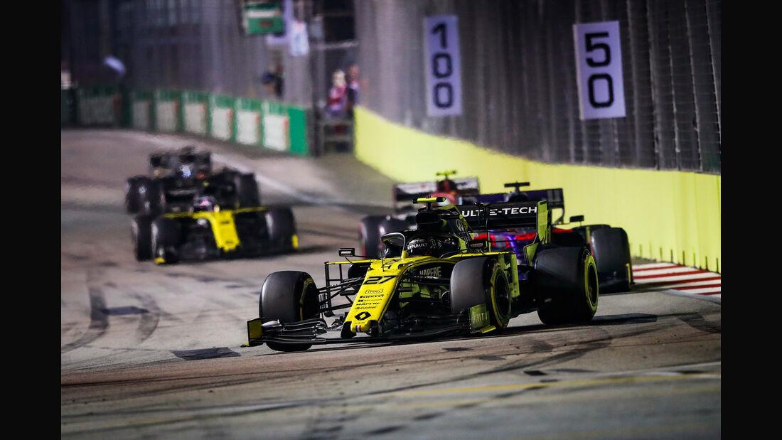 Nico Hülkenberg - Renault - GP Singapur 2019 - Rennen