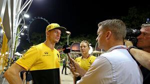 Nico Hülkenberg - Renault - GP Singapur - Formel 1 - Donnerstag - 14.9.2017