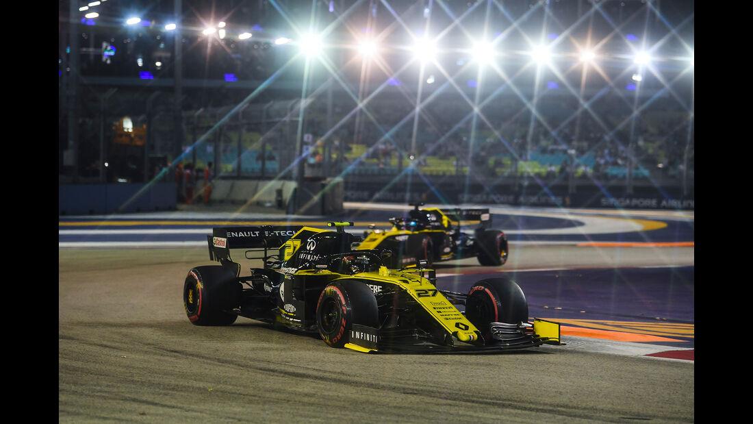 Nico Hülkenberg - Renault - GP Singapur - Formel 1 - Freitag - 20.9.2019