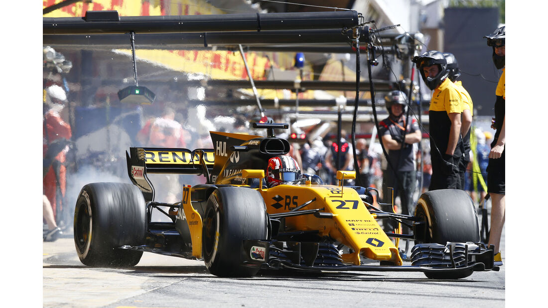 Nico Hülkenberg - Renault - GP Spanien - Barcelona - 12. Mai 2017