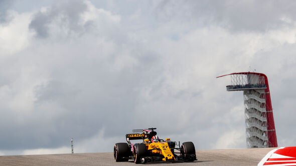 Nico Hülkenberg - Renault - GP USA 2017 - Qualifying
