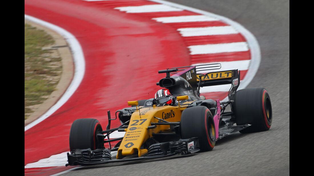 Nico Hülkenberg - Renault - GP USA - Austin - Formel 1 - Freitag - 20.10.2017
