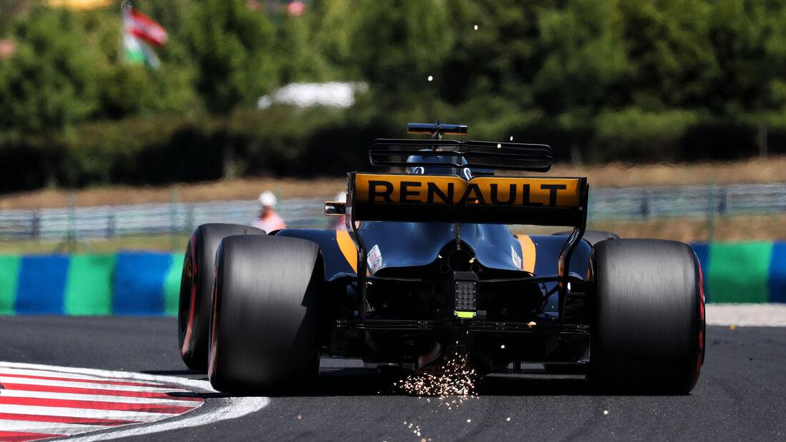 Nico Hülkenberg - Renault - GP Ungarn 2017 - Budapest - Qualifying
