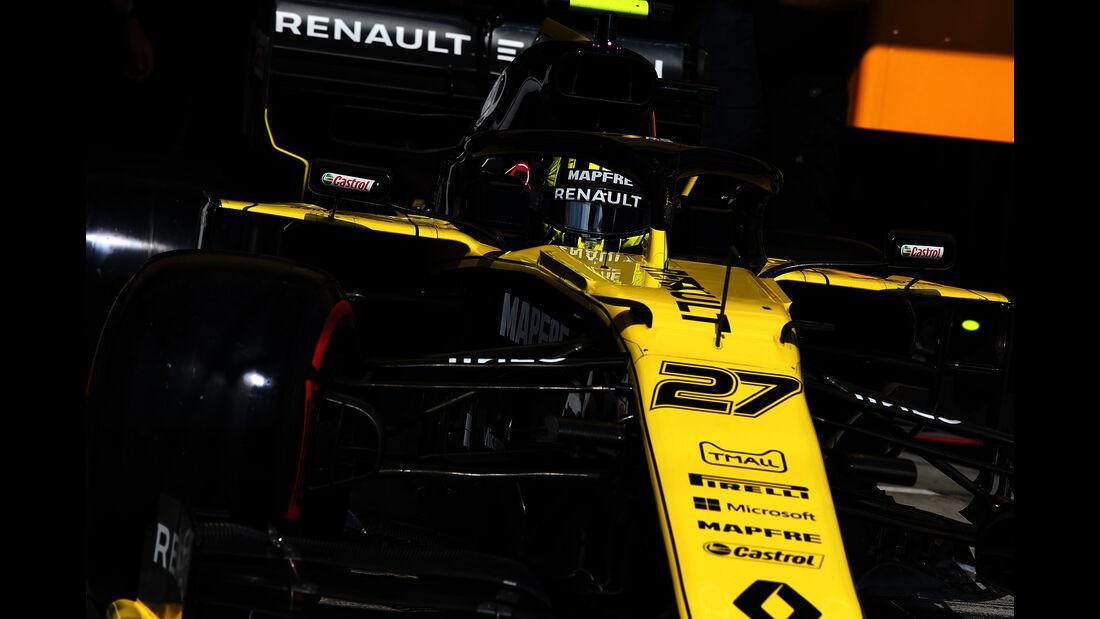 Nico Hülkenberg - Renault - GP Ungarn 2019 - Budapest - Qualifying