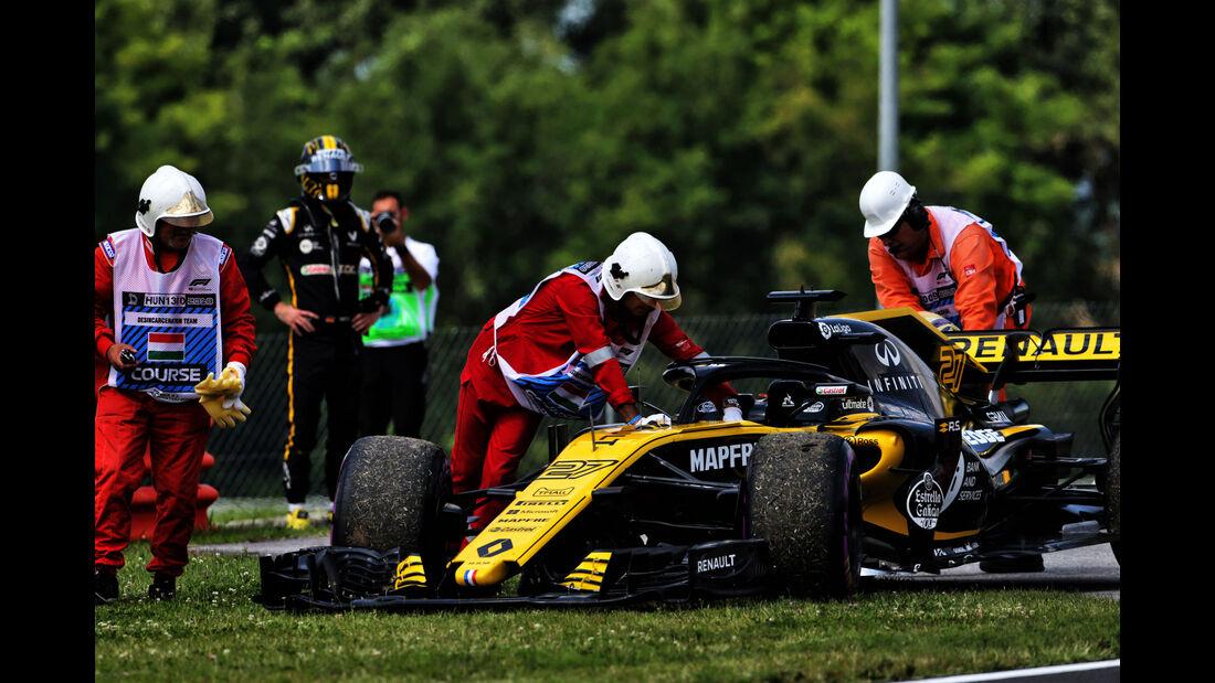 Nico Hülkenberg - Renault - GP Ungarn - Budapest - Formel 1 - 27.7.2018