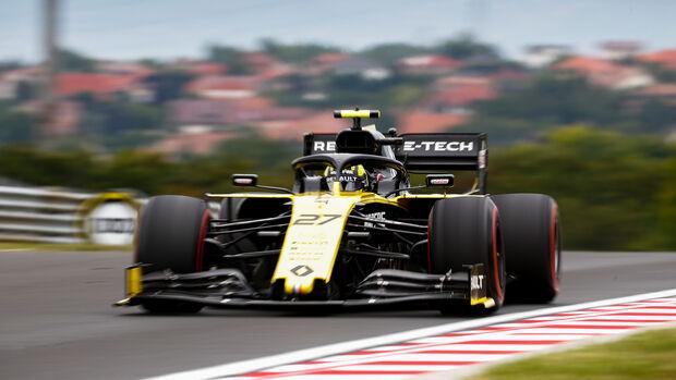 Nico Hülkenberg - Renault - GP Ungarn - Budapest - Formel 1 - Freitag - 1.8.2019