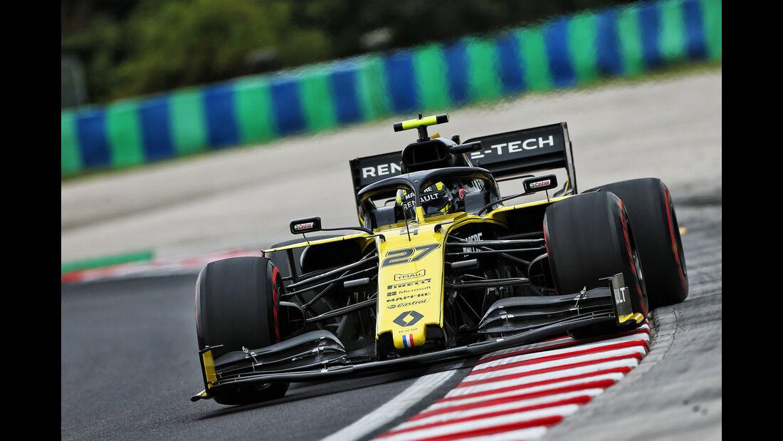 Nico Hülkenberg - Renault - GP Ungarn - Budapest - Formel 1 - Freitag - 2.8.2019