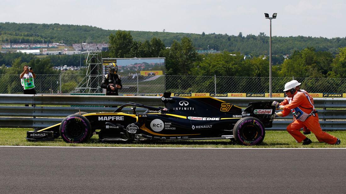 Nico Hülkenberg - Renault - GP Ungarn - Budapest - Formel 1 - Freitag - 27.7.2018