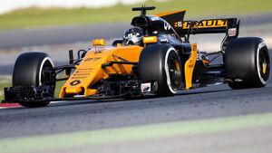 Nico Hülkenberg - Renault R.S.17 - Testfahrten - Barcelona