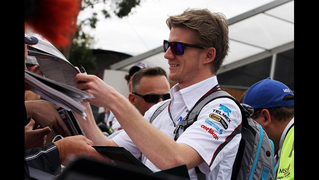 Nico Hülkenberg - Sauber - Formel 1 - GP Australien - 14. März 2013