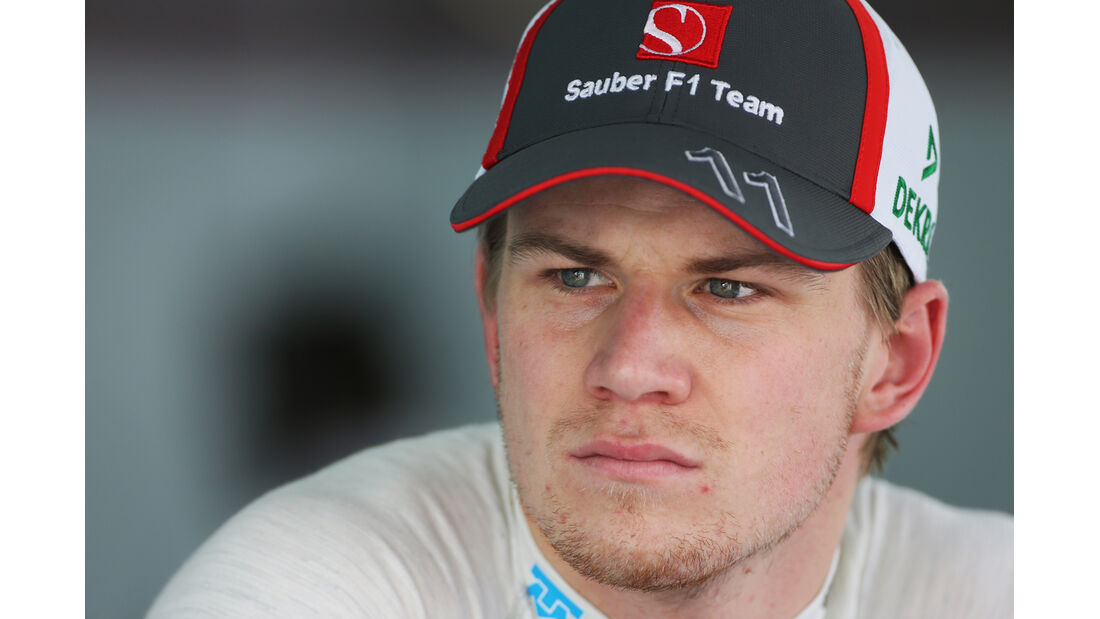 Nico Hülkenberg - Sauber - Formel 1 - GP Bahrain - 19. April 2013