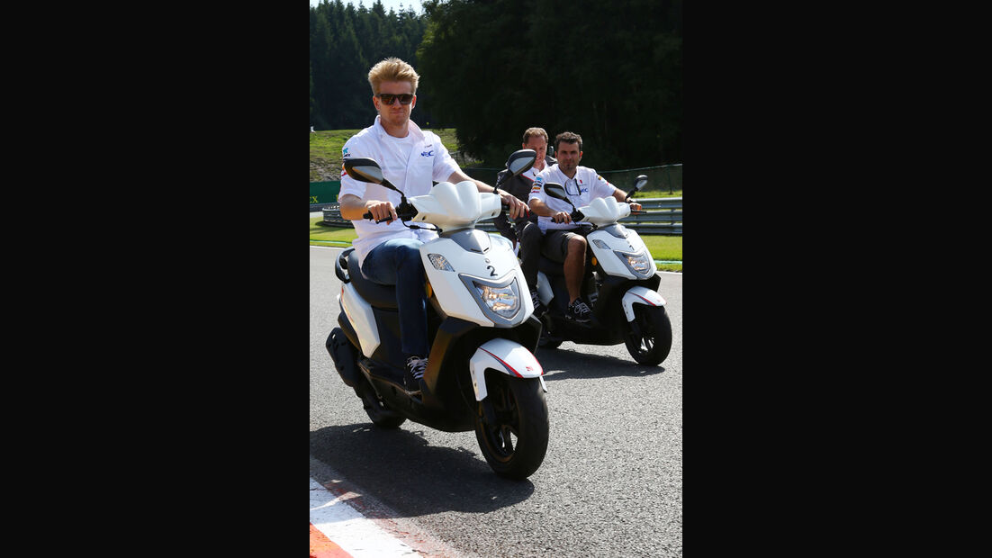 Nico Hülkenberg - Sauber - Formel 1 - GP Belgien - Spa-Francorchamps - 22. August 2013