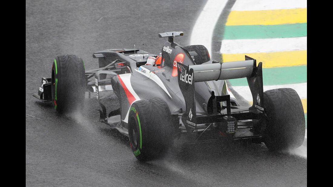 Nico Hülkenberg - Sauber - Formel 1 - GP Brasilien - 22. November 2013