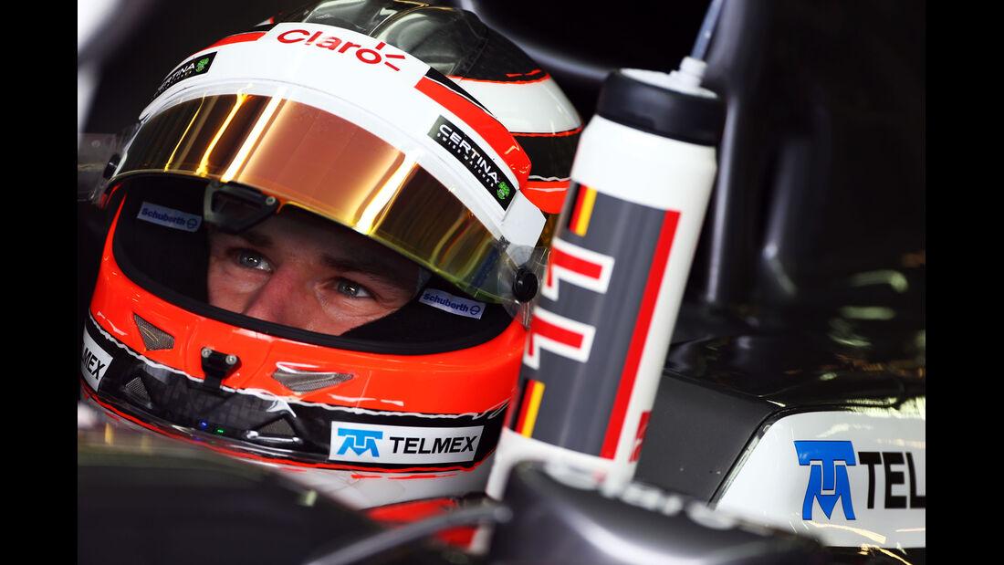 Nico Hülkenberg - Sauber - Formel 1 - GP Deutschland - 6. Juli 2013