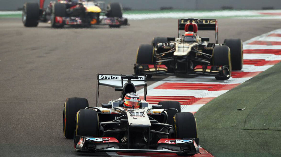 Nico Hülkenberg - Sauber - Formel 1 - GP Indien - 27. Oktober 2013