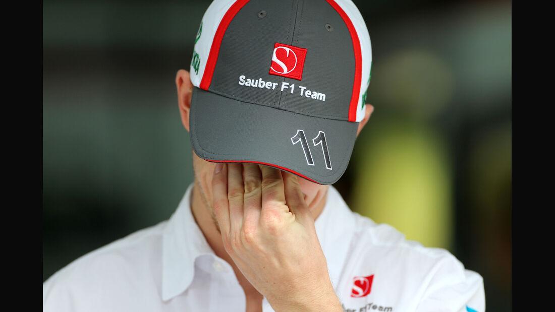 Nico Hülkenberg - Sauber - Formel 1 - GP Indien - Delhi - 24. Oktober 2013