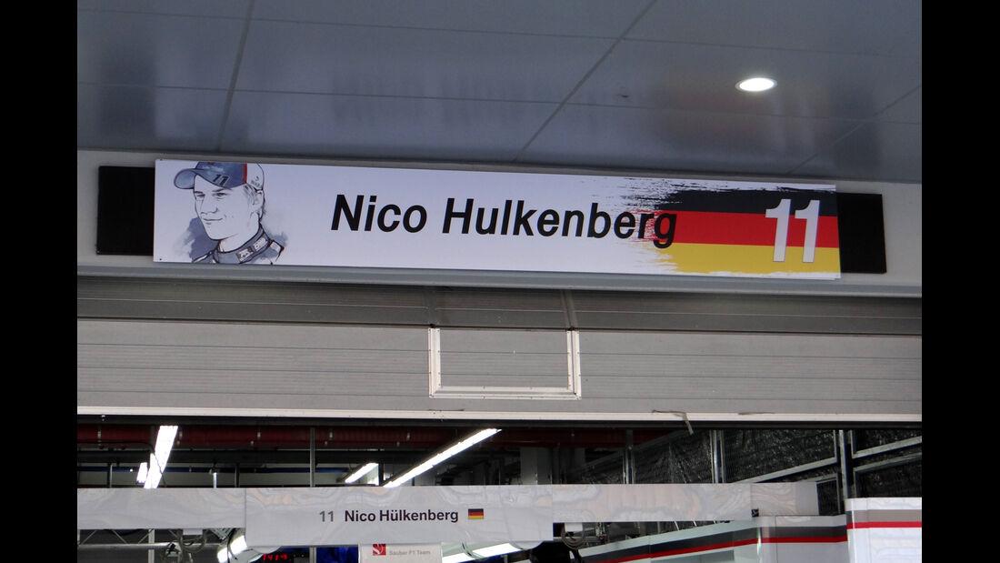Nico Hülkenberg - Sauber - Formel 1 - GP Korea - 2. Oktober 2013