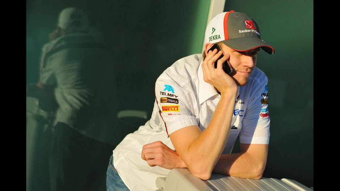 Nico Hülkenberg - Sauber - Formel 1 - GP Korea - 3. Oktober 2013