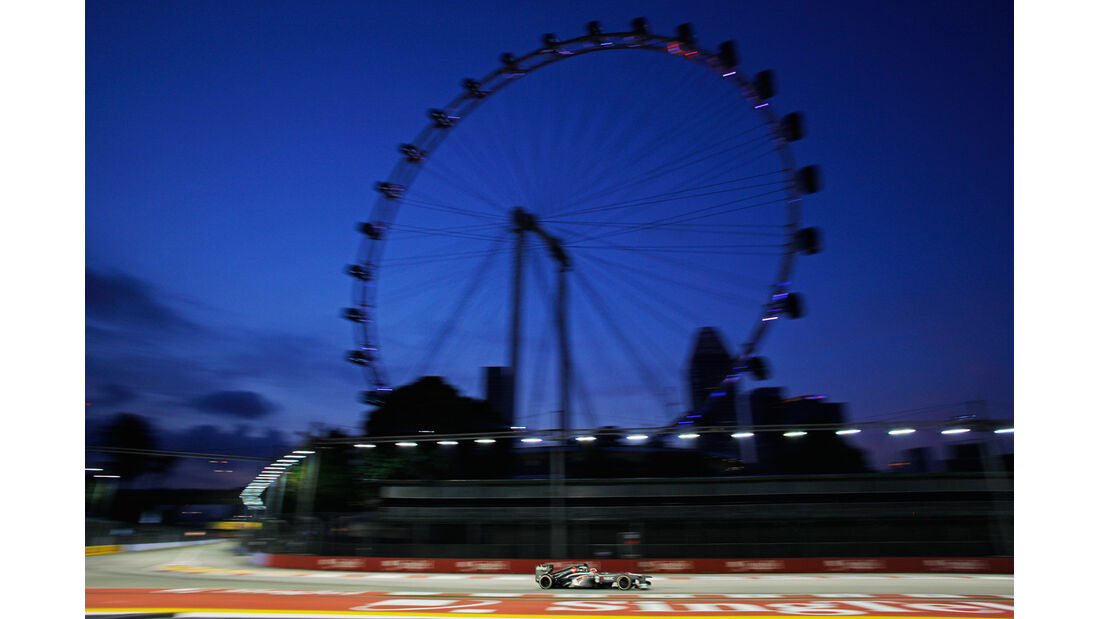 Nico Hülkenberg - Sauber - Formel 1 - GP Singapur - 20. September 2013