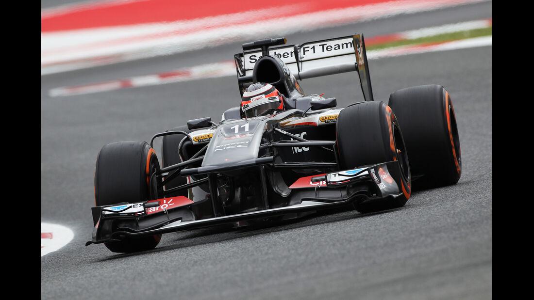 Nico Hülkenberg - Sauber - Formel 1 - GP Spanien - 10. Mai 2013