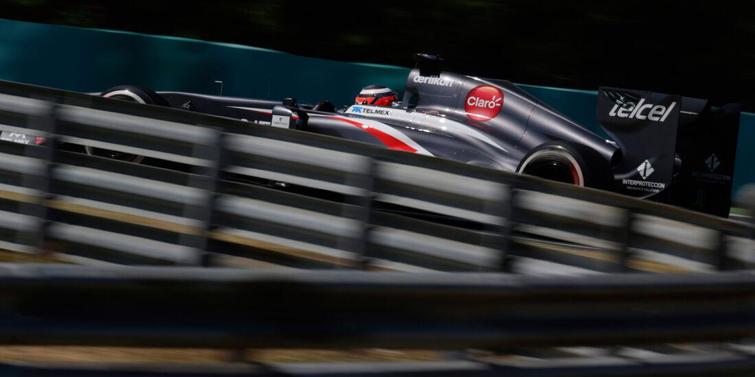 Nico Hülkenberg - Sauber - Formel 1 - GP Ungarn 2013