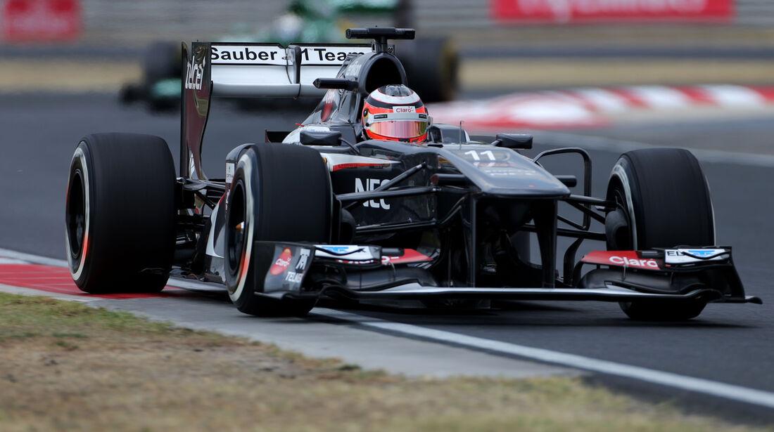 Nico Hülkenberg - Sauber - Formel 1 - GP Ungarn - 27. Juli 2013