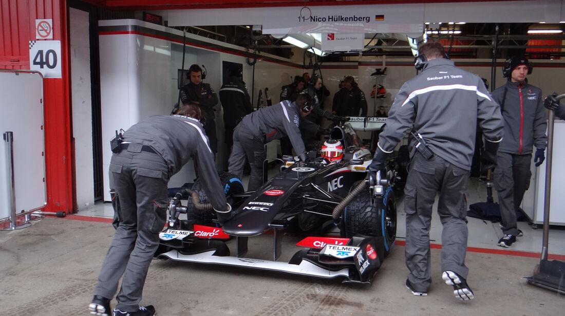 Nico Hülkenberg - Sauber - Formel 1 - Test - Barcelona - 1. März 2013