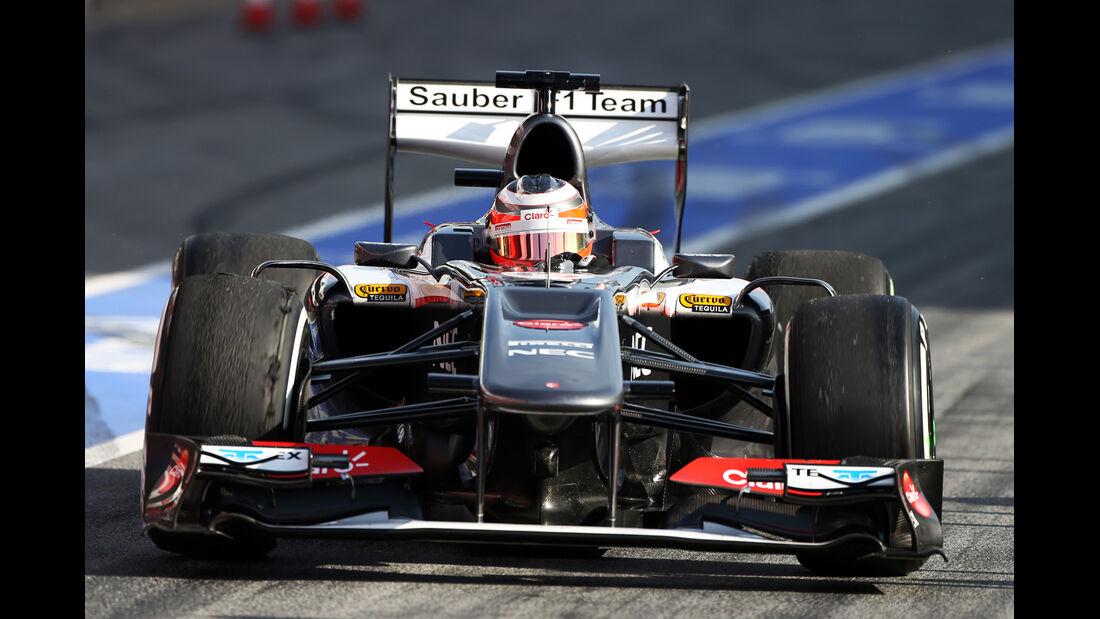 Nico Hülkenberg - Sauber - Formel 1 - Test - Barcelona - 3. März 2013