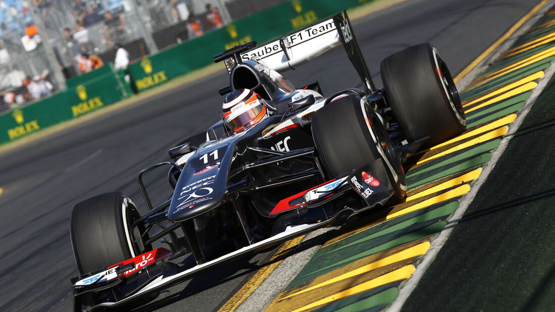 Nico Hülkenberg Sauber GP Australien 2013